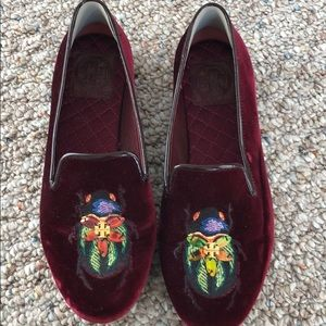 Tory Burch Velvet Loafer size 6
